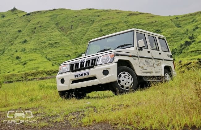 Mahindra Bolero Road Test Images
