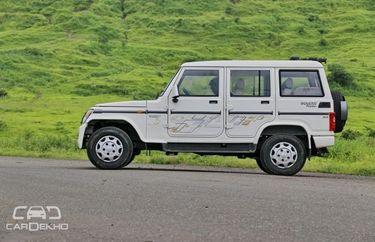 Mahindra Bolero 2011-2019 Road Test Images