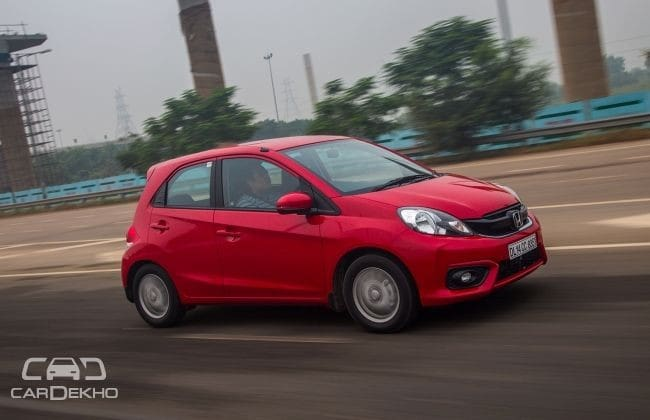 Honda Brio Road Test Images