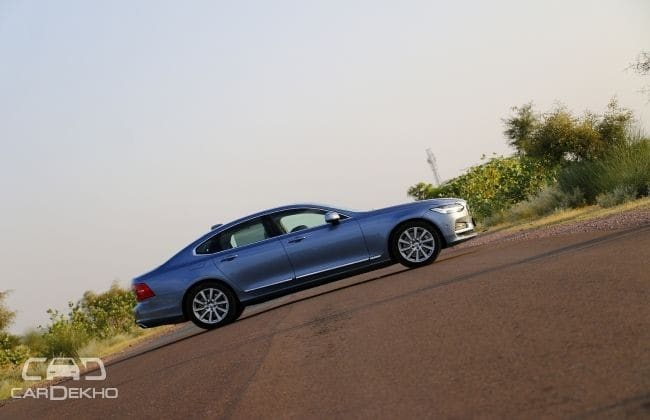 Volvo S90 Road Test Images