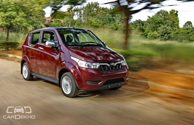 Mahindra e2o Plus Road Test Images