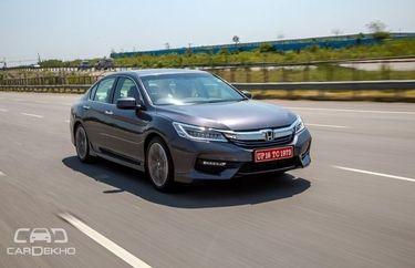 Honda New Accord Road Test Images