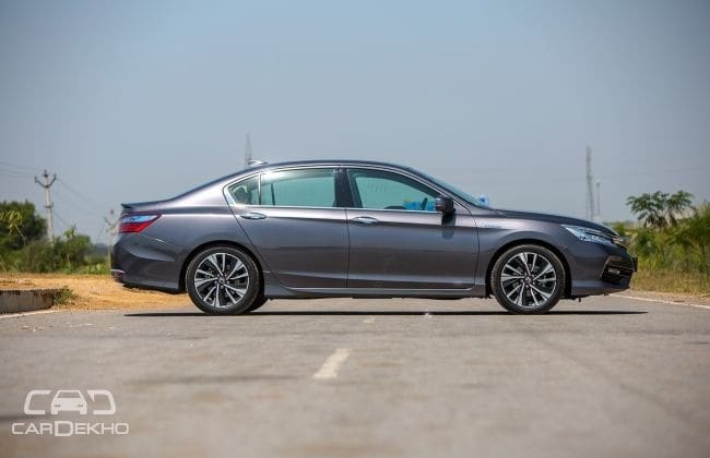 Honda New Accord Road Test Images