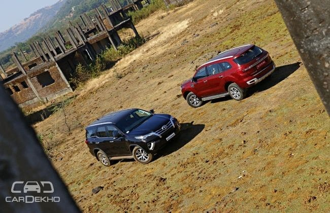 Ford Endeavour And Toyota Fortuner