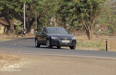 Audi A4 2015-2020 Road Test Images