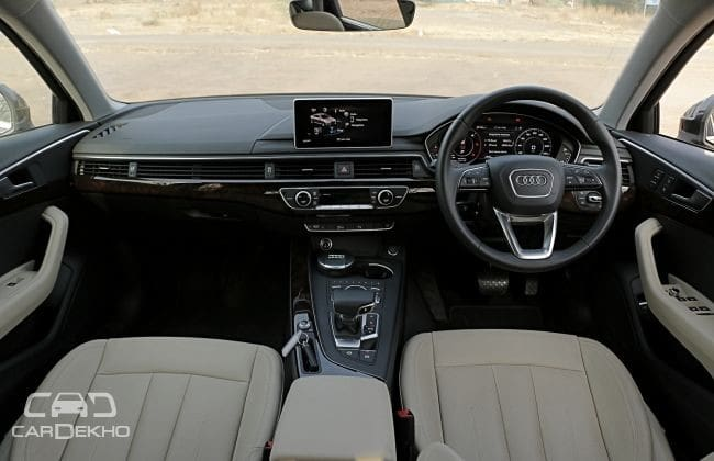 Audi A4 2015-2020 Road Test Images