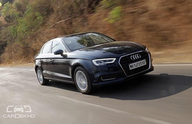 Audi A3 Road Test Images