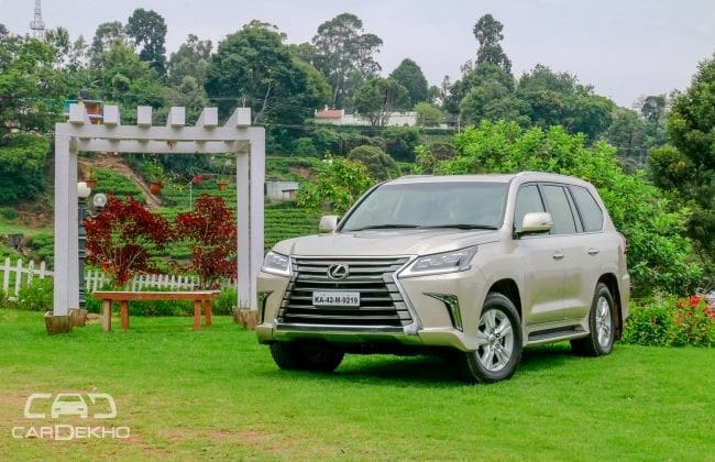 Lexus LX Road Test Images