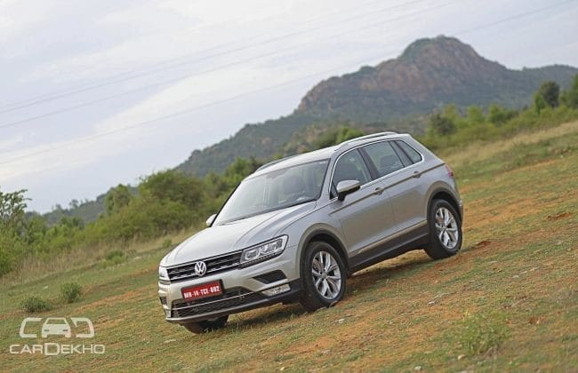 Volkswagen Tiguan Road Test Images