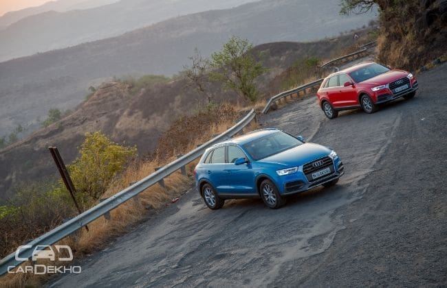 Audi Q3 Road Test Images