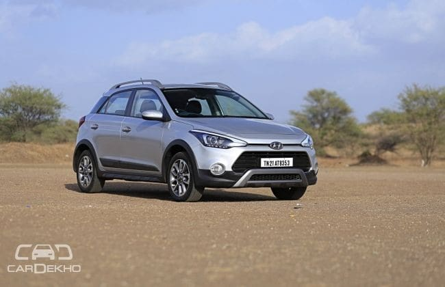 Hyundai i20 Active Road Test Images