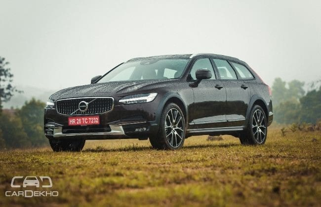 Volvo V90 Cross Country Road Test Images