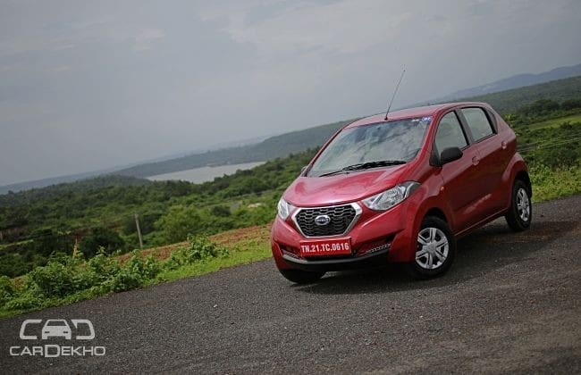 Datsun redi-GO 2016-2020 Road Test Images