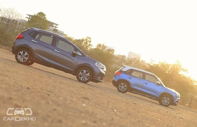 Honda WR-V Road Test Images