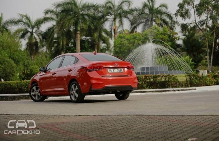 Hyundai Verna Road Test Images