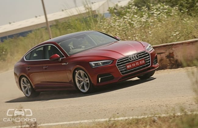 Audi A5 Road Test Images