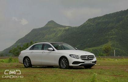 Mercedes Benz E350 D And E220 D Review Cardekho Com