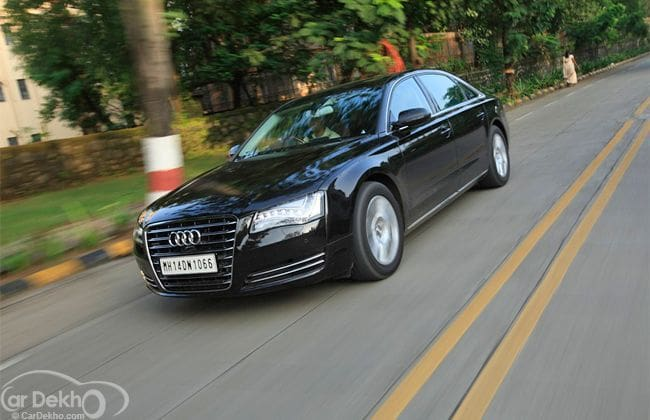 Audi A8 L 4.2 TDI V8  Enchantingly Luxurious