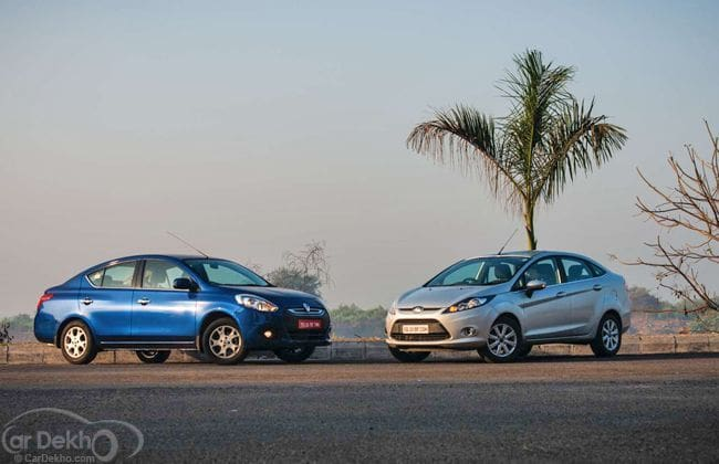 Renault Scala and Ford Fiesta Automatic comparison