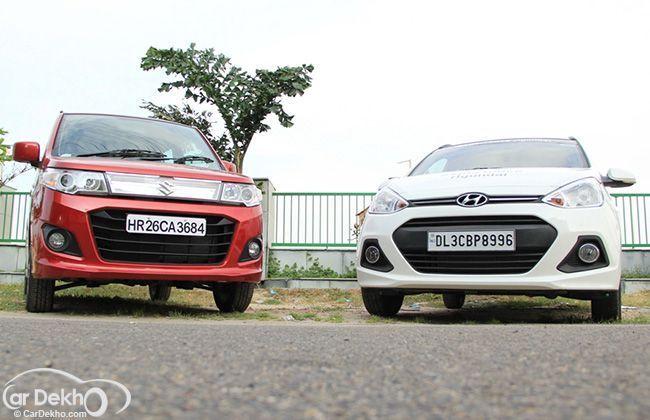 Maruti Suzuki WagonR Stingray vs Hyundai Grand i10