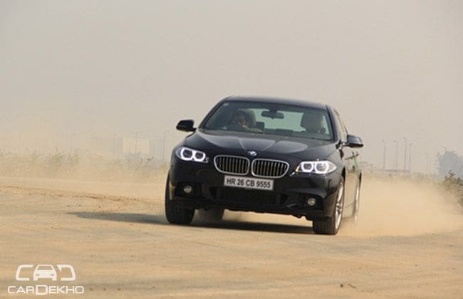 Stick Slicker- BMW 5 Series review