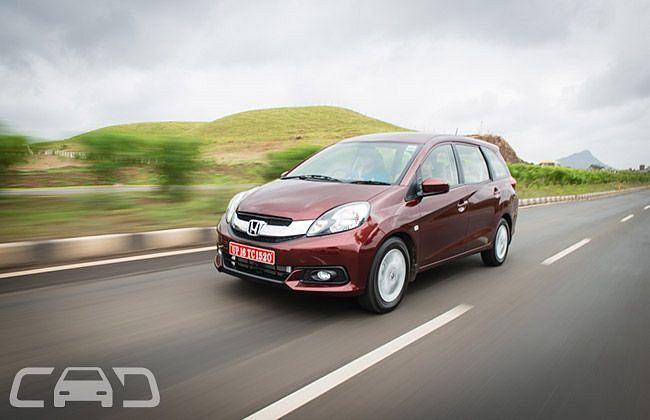 Honda Mobilio Expert Review