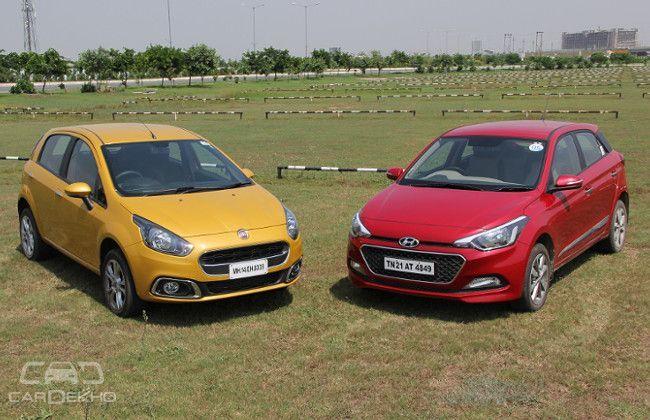 Hyundai Elite i20 V/S Fiat Punto Evo: Comparison Test
