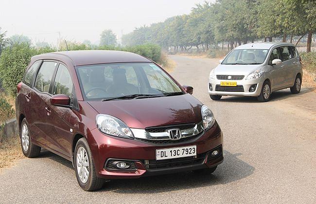 Honda Mobilio versus Maruti Suzuki Ertiga: Comparison Test