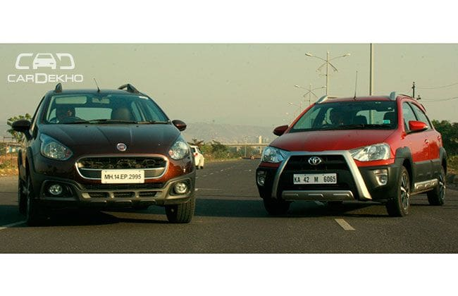 Comparison: Toyota Etios Cross Vs Fiat Avventura