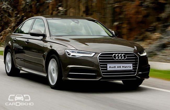 Audi A6 Matrix 2.0 TDI: First Drive