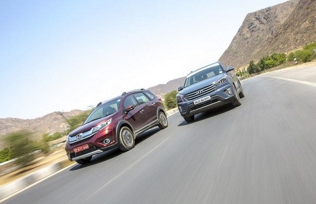 Honda BR-V vs Hyundai Creta Comparison Review