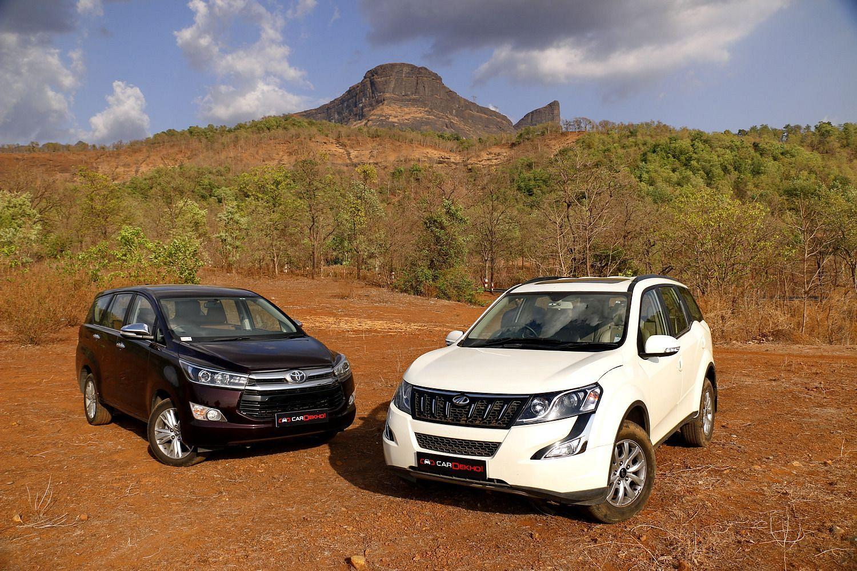 Mahindra XUV500 Automatic vs Toyota Innova Crysta Automatic: Comparison Review