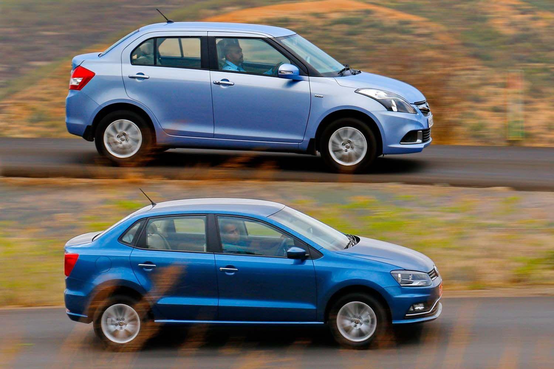Volkswagen Ameo vs Maruti Suzuki Swift Dzire: Quick Comparison
