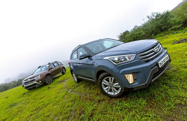 Renault Duster Automatic vs Hyundai Creta Automatic: Comparison Review