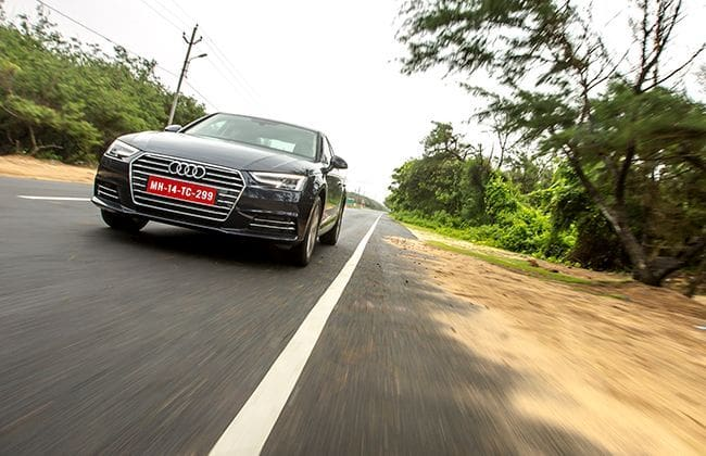 Audi A4 : First Drive Review