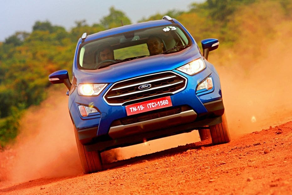 Ford EcoSport Facelift: First drive review