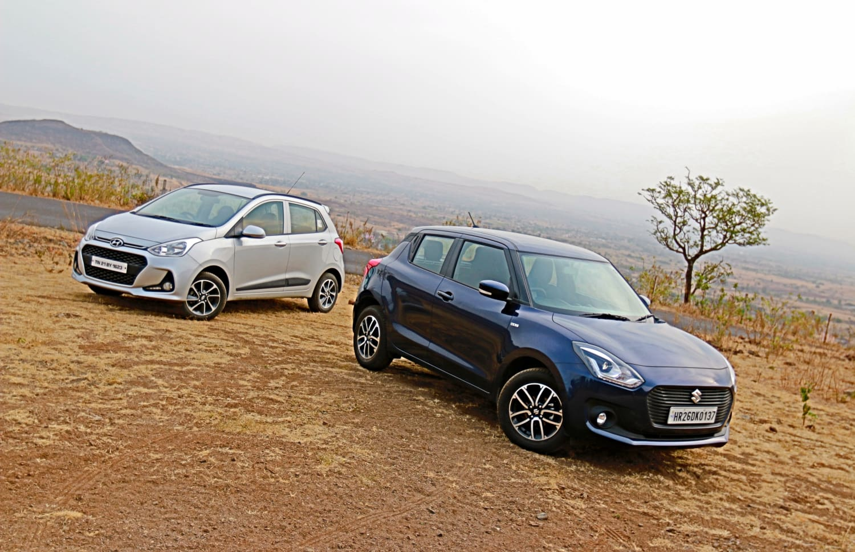 Maruti Suzuki Swift VS Hyundai Grand i10:  Review