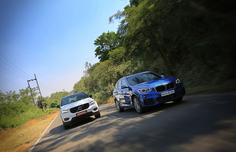 Volvo XC40 vs BMW X1 Review: Comparison
