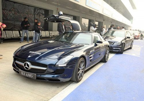 Driving At The Mercedes AMG Academy