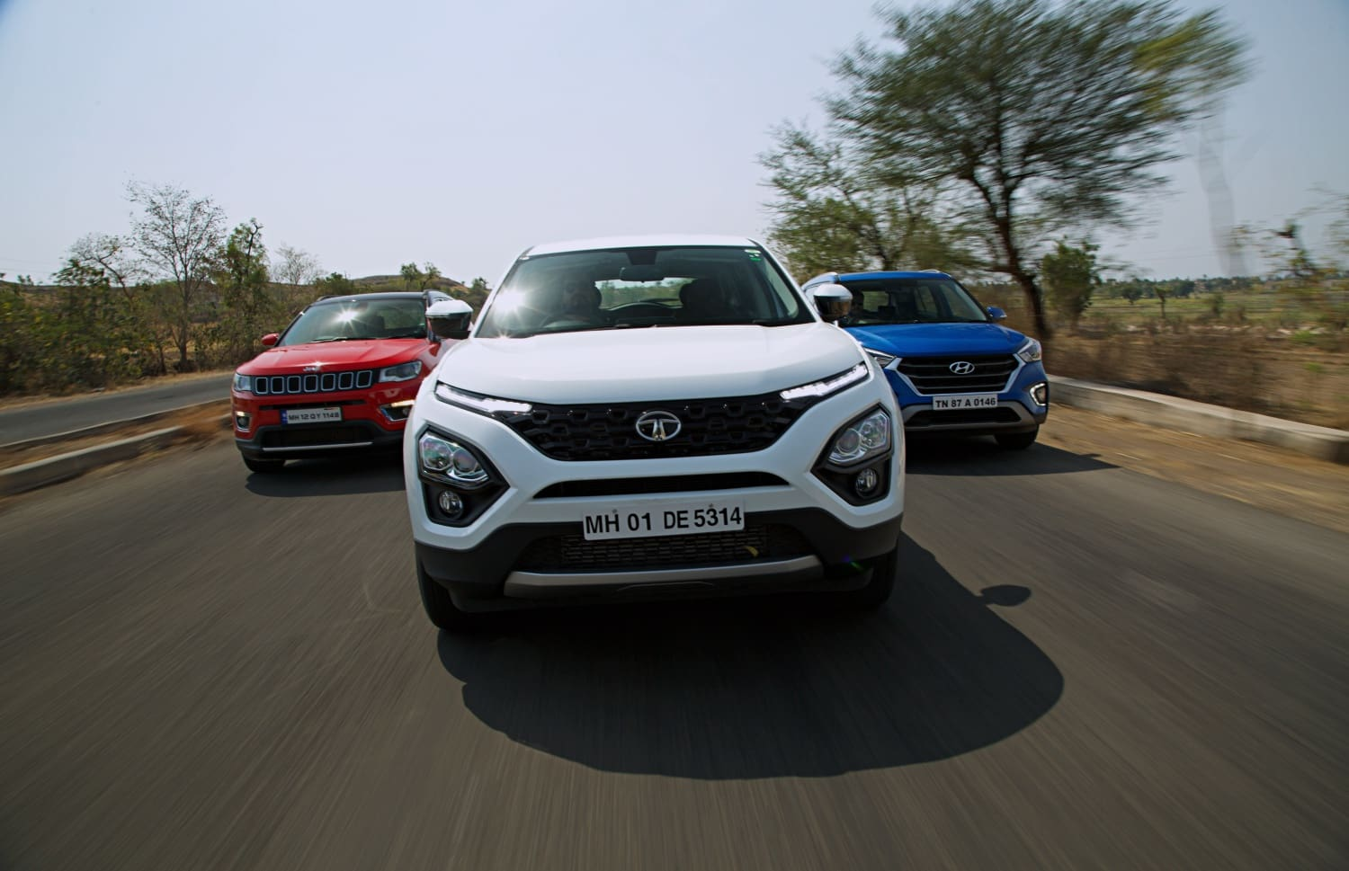 Tata Harrier vs Hyundai Creta vs Jeep Compass: Comparison Review