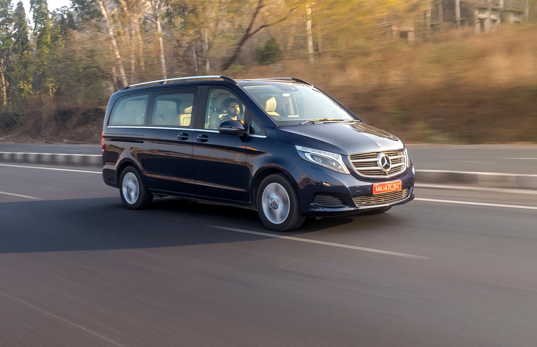 Mercedes-Benz V-Class:  Review