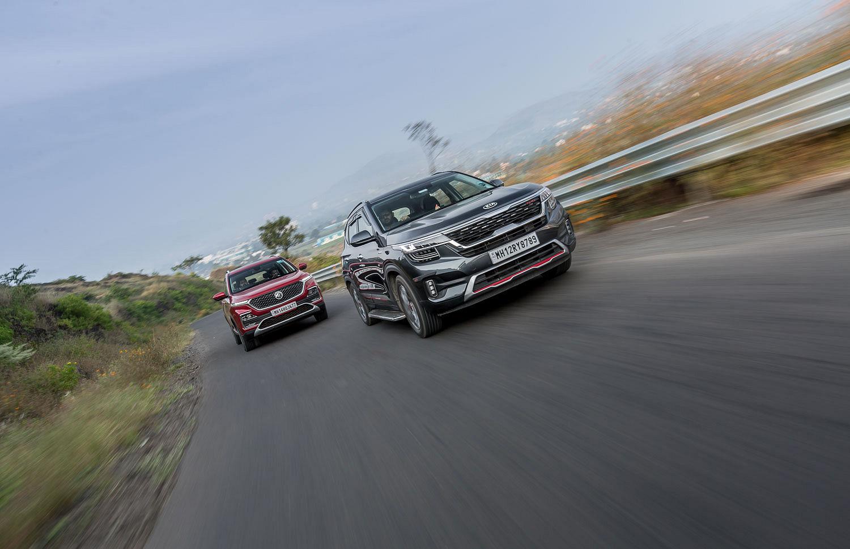 Kia Seltos vs MG Hector: Petrol-auto Comparison Review