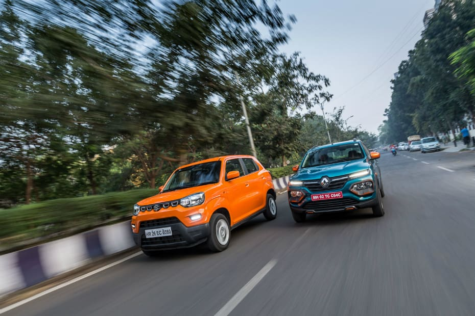 Maruti Suzuki S-Presso vs Renault Kwid: AMT Comparison Review