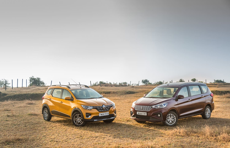 Renault Triber vs Maruti Suzuki Ertiga: Comparison Review