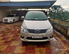 2012 టయోటా ఇనోవా 2.5 జి (డీజిల్) 7 Seater BS IV