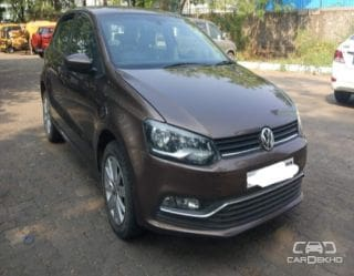 Used Brown Volkswagen Polo Car In Mumbai Second Hand Cars For Sale
