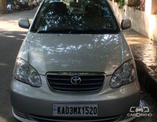 2007 Toyota Corolla Executive (HE)