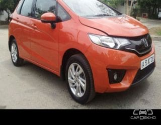 Used Orange Honda Jazz Car In Bangalore 1 Second Hand Cars For