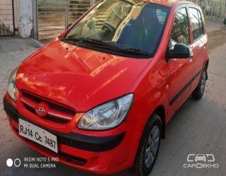 2008 Hyundai Getz 1.1 GVS (Rear Spoiler)