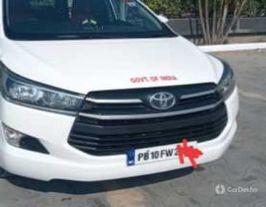 2016 Toyota Innova Crysta 2.4 G MT 8S BSIV